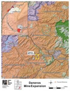 Daneros uranium mine in southeastern Utah
